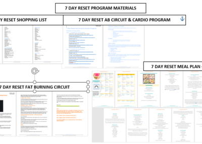 7 Day Reset Program Materials