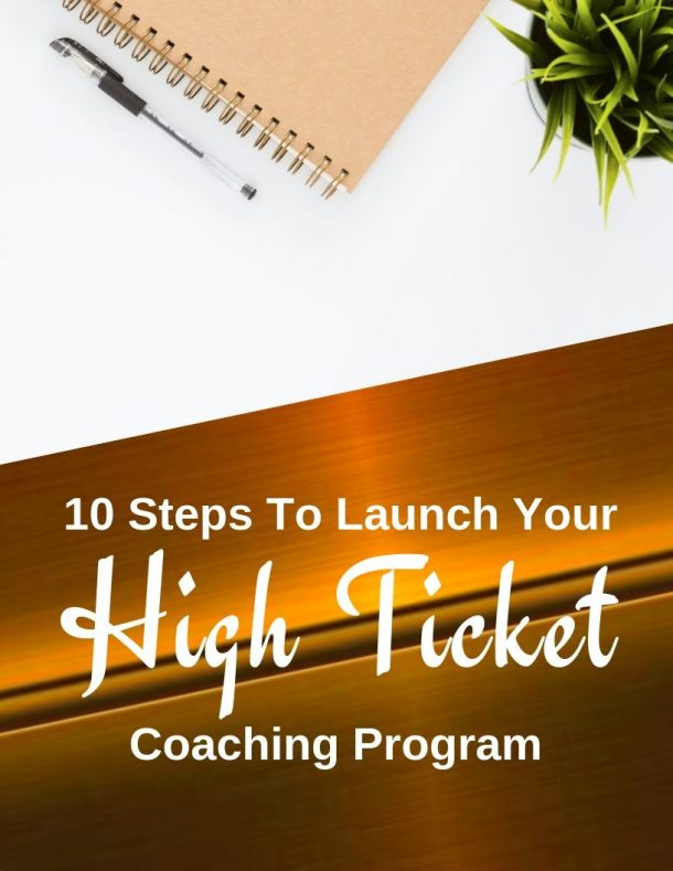 launch your high ticket program